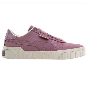 Purple Mauve Cali Nubuck Puma Sneakers Elderberry